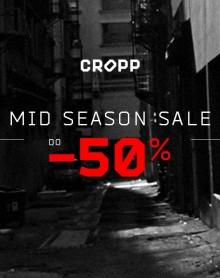 Mid Season Sale do -50% na wybrany asortyment w CROPP