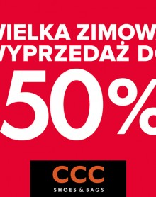 Zimowa wyprzedaż w CCC do -50%
