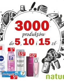 3000 produktów do 5, 10 i 15zł! – DROGERIA NATURA