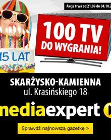 MEDIA EXPERT 100 TV do wygrania!