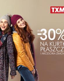 TXM -30% na kurtki, płaszcze i akcesoria zimowe!