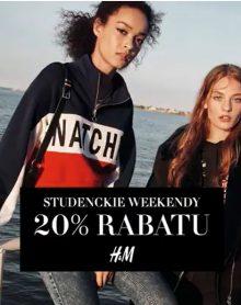 H&M Studencki weekend!