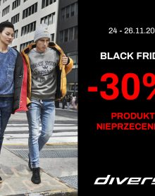 DIVERSE Black Friday -30%