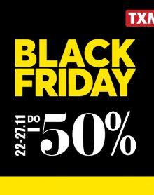 TXM Black Friday -50%!