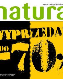 DROGERIA NATURA WYPRZEDAŻ DO -70%!