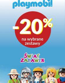 ŚWIAT ZABAWEK Klocki Playmobil do – 20%