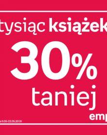 EMPIK Tysiąc książek 30% taniej!