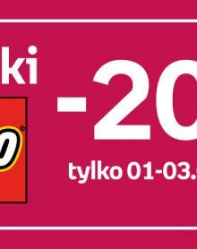 EMPIK Klocki LEGO -20%