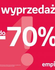 EMPIK Wyprzedaż do -70%