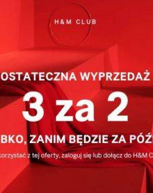 H&M ostatnich dniach wyprzedaży!