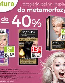 DROGERIA NATURA DO METAMORFOZY DO -40%