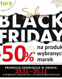 DROGERIA NATURA BLACK FRIDAY -50%