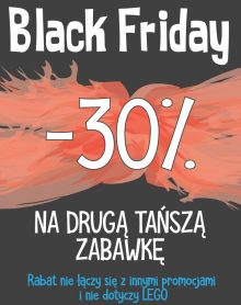 ŚWIAT ZABAWEK Black Friday -30%!