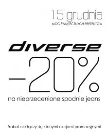 DIVERSE PROMOCJA -20%