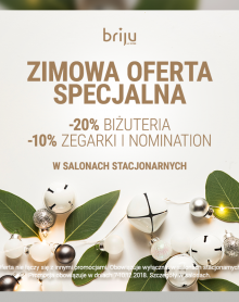 BRIJU Zimowa oferta specjalna!