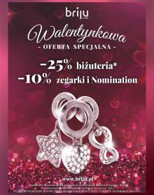 BRIJU Walentynkowa oferta specjalna!