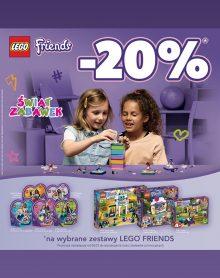 ŚWIAT ZABAWEK LEGO FRIENDS – 20 %