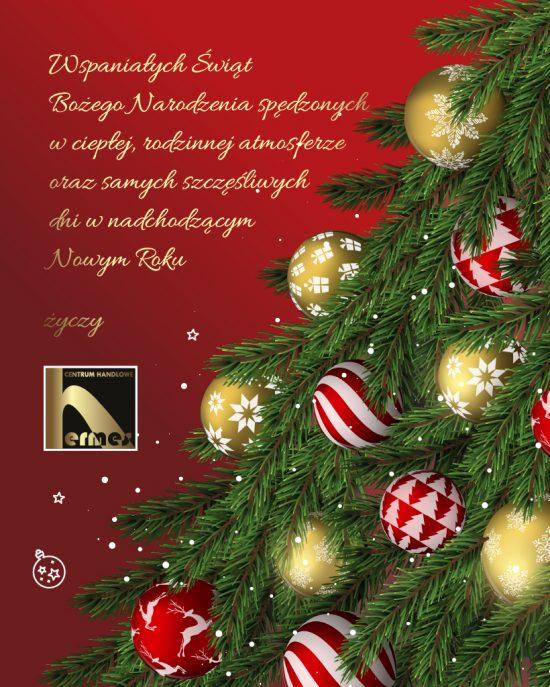 Wspaniałych Świąt